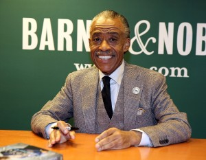 "Reverend Al Sharpton Signs Copies Of His Book ""Rejected Stone: Al Sharpton And The Path To American Leadership"""